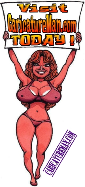 Ring-Girl.Caricature