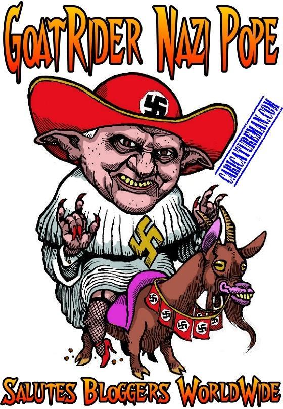 Goat Rider Nazi Pope