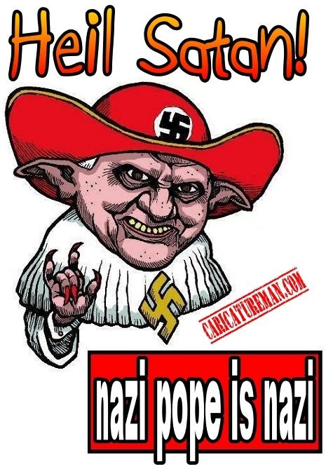 Nazi pope is nazi